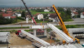 Izgradnja nadvožnjaka preko željezničke pruge i mag. puta M4 Prijedor-Novi Grad