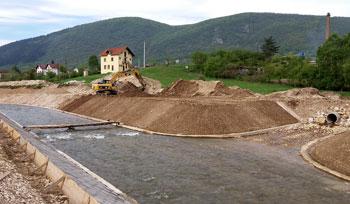 Sprovođenje zaštite od poplava u opštinama Rogatica, Pale i Novi Grad