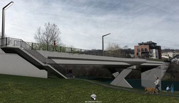Izgradnja novog mosta preko rijeke Vrbas - Zeleni most